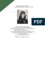 Novena to St. Faustine