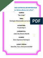 Informe Sobre Patologias de Los Sentidos