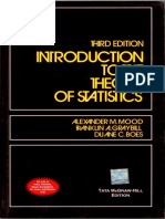 Introduction to the theory of statistics - Mood A.M., Graybill F.A., Boes D.pdf
