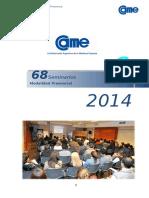 Oferta de Seminarios Presenciales 2014