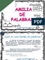 Familia de Las Palabras PDF