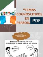 La cognición en la personalidad
