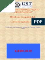 1ra Clase de Metodo de Compatibilidad - 2