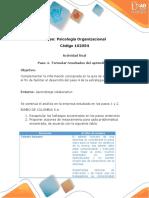 Paso 4 - Formular Resultados Del Aprendizaje _Vigdys Rosas Ponce
