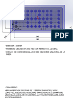 Ejercicio de Taladrado y Contorno CNC Simulator