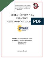 Informe Visita Meteorologica UNA PUNO