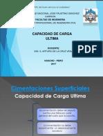 Semana 13 Cimentaciones Superficiales Capacidd de Carga