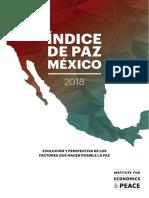 Mexico Peace Index 2018 Spanish