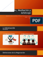Conciliación, Mediación y Arbitraje