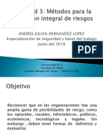 Actividad 3 Metodos Para La Evaluacion Integral de Riesgos.