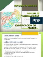 Unidad III - Estimacion Del Riesgo- 2017
