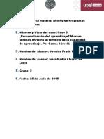 Diseño Instruccional Estudio de Caso 3 Utel