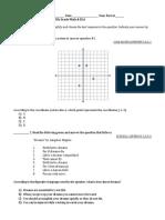 common core diagnostic test-5th grade math   ela