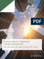 Thomson Reuters Regulatory Change Brochure