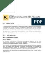 Biotransformation des Toxiques