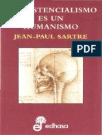 Sartre Jean Paul- El existencialismo es un humanismo.pdf