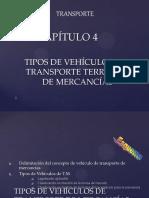 Tipos de Vehiculos de Transporte Terrestre Carretera