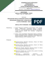 E.P. 2.3.7.1... 317 SK Pengarahan Kepala Puskesmas Kepada Penanggung Jawab, Pengarahan Penanggung Jawab Kepada Pelaksana