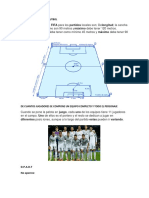 Medida Del Campo de Futbol