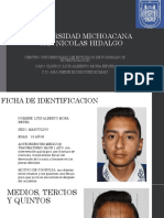 Caso Clinico Luis Alberto Mora
