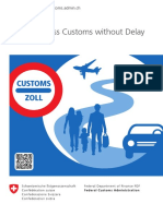 Customs Info 2017-Clearingswisscustomswithoutdelayform1850