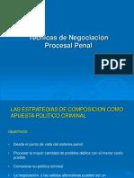 Tecnicas de Negociacion Procesal Penal[1].ppt