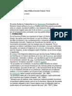 Escritura Publica. Derecho Notarial