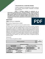 Taller Realizacion Auditoria Interna Diego Herreño