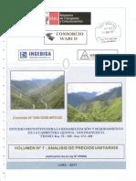 Volumen 07 Analisis de Precios Unitarios