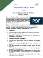 Regulamento Do Concurso de Leitura 08 09