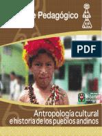 Antropología cultural e historia de los pueblos andinos