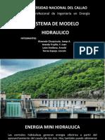 Sistema de Modelo Hidraulico
