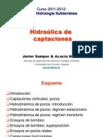 Hidraulica Captaciones Parte 1 Hidrologia Subterranea Apuntes