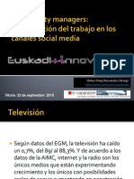 Conferencia de Dolores Reig en Euskadi Innova