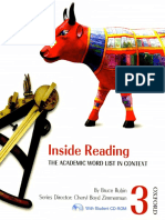 Bruce Rubin - Inside Reading 3 Student Book Pack_ The Academic Word List in Context (2007, Oxford University Press, USA).pdf