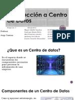 Introducción a Centro de Datos