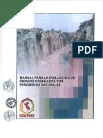 Manual Para La Evaluación de Riesgos Originados Por Fenómenos Naturales