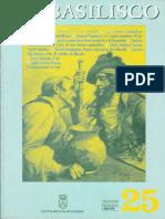 49 - Principios y Reglas Generales de La Bioética Materialista. El Basilisco, Número 25, 1999