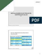 CITDF Jornadas 2017-06-27 Intalaciones Electricas en Centros de Salud