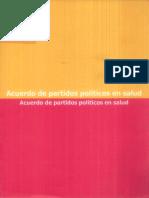 Acuerdos de Partidos Politicos en Salud 1