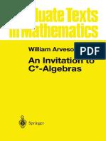 William Arveson - An Invitation to C_-Algebras (1976) [978!1!4612-6371-5]