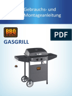 SOUTH BBQ Gasgrill 2018 Instructionpaper v11 Online
