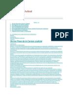 Ley de Carrera Judicial