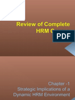HRM Review  BOOK.. .. preston university islamabad