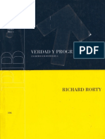 Rorty Richard - Verdad y progreso.pdf