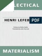 Henri Lefebvre Dialectical Materialism