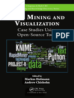 [Chapman & Hall_CRC Data Mining and Knowledge Discovery Series] Chisholm, Andrew_ Hofmann, Markus - Text Mining and Visualization _ Case Studies Using Open-source Tools (2016, CRC Press)