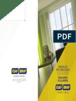 Manual de Instrução de Instalação, Manuseio e Manutenção de Esquadrias de Alumínio - ESAF e IBRAP.pdf