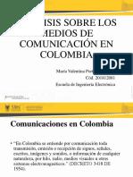 Analisis Medios de Comunicacion
