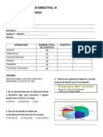 Examen Bimestral IV